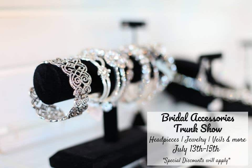 bridal accessories trunk show