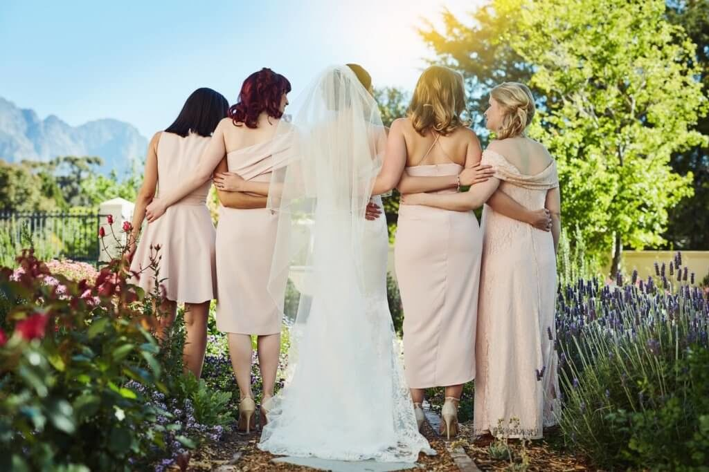 Bride and Bridesmaid Pictures